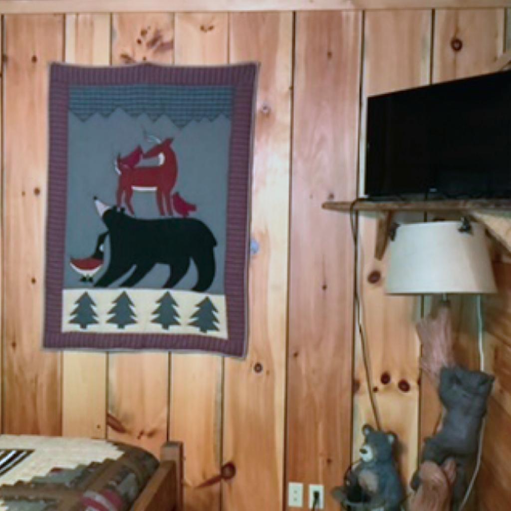 """Bear Room"" decor"